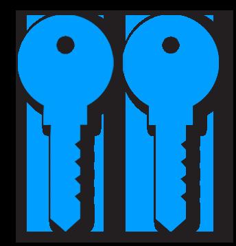 Symmetric-key encryption is easier but less secure.